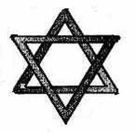 Hexagram = Star of David