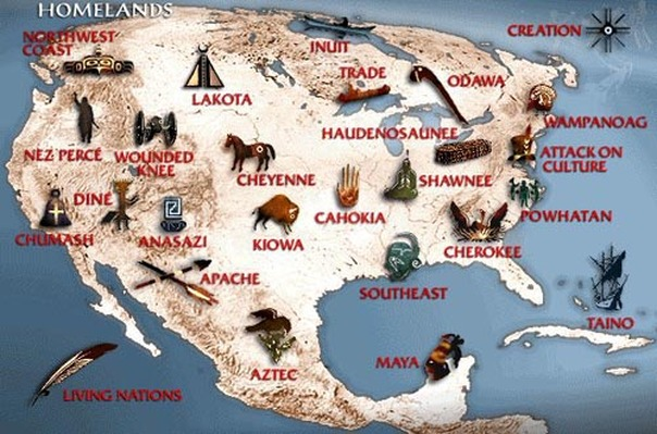 North American Map